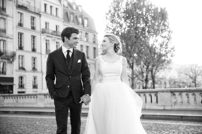 Real Wedding of Bridget & Brian by Luxe Paris Events - 044