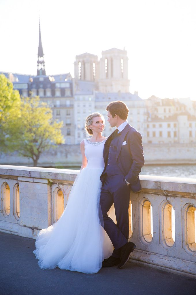 Real Wedding of Bridget & Brian by Luxe Paris Events - 045