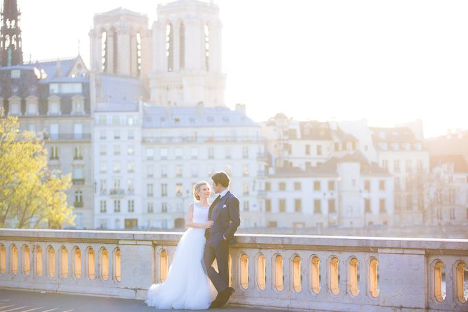 Real Wedding of Bridget & Brian by Luxe Paris Events - 046