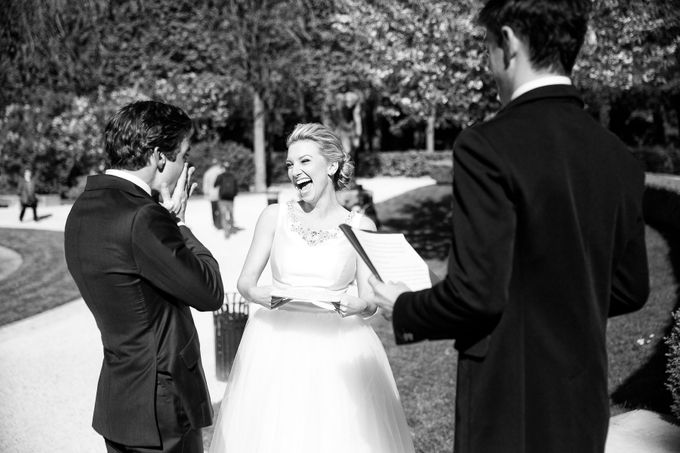 Real Wedding of Bridget & Brian by Luxe Paris Events - 003