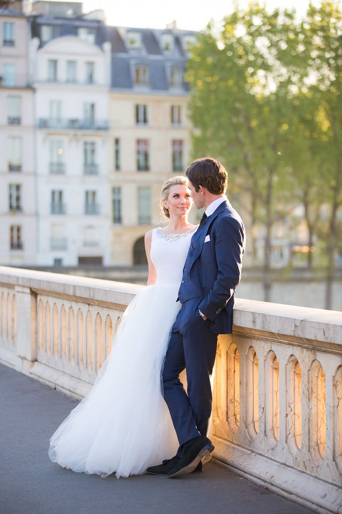 Real Wedding of Bridget & Brian by Luxe Paris Events - 047