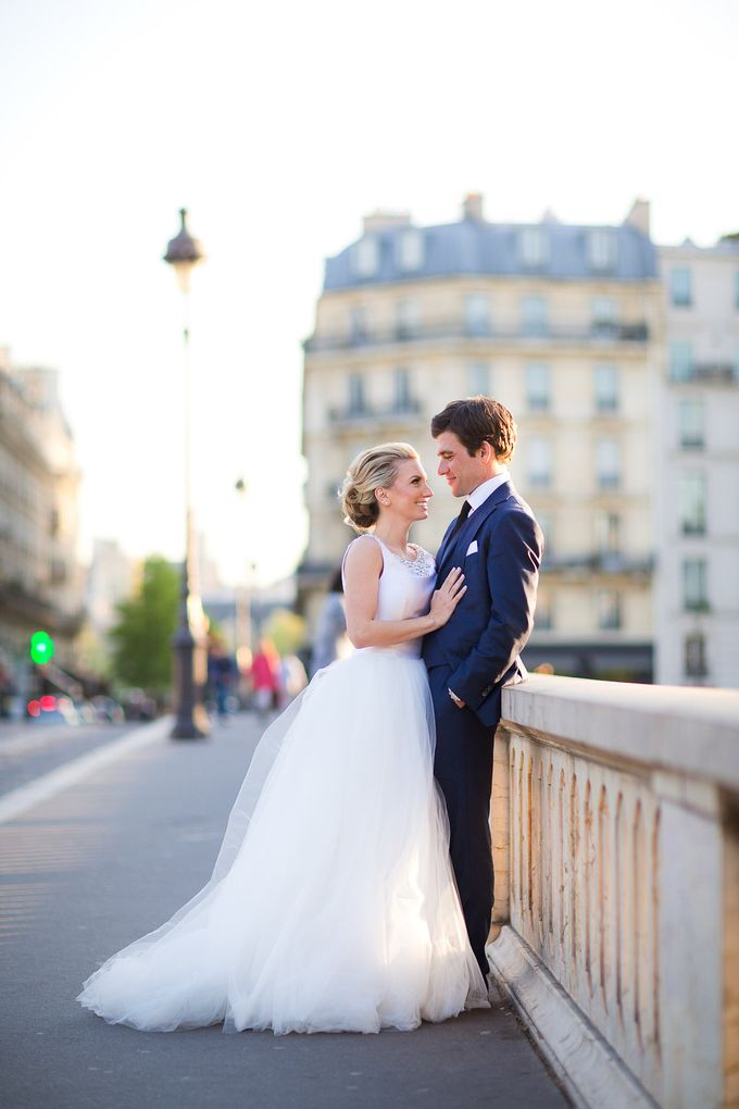 Real Wedding of Bridget & Brian by Luxe Paris Events - 048