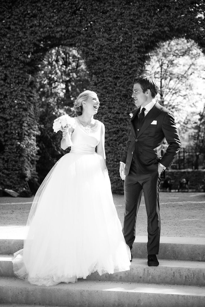 Real Wedding of Bridget & Brian by Luxe Paris Events - 004