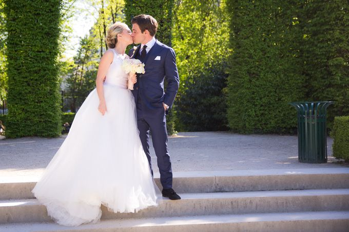 Real Wedding of Bridget & Brian by Luxe Paris Events - 005