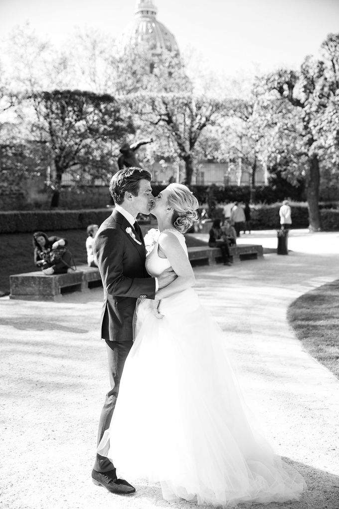Real Wedding of Bridget & Brian by Luxe Paris Events - 006