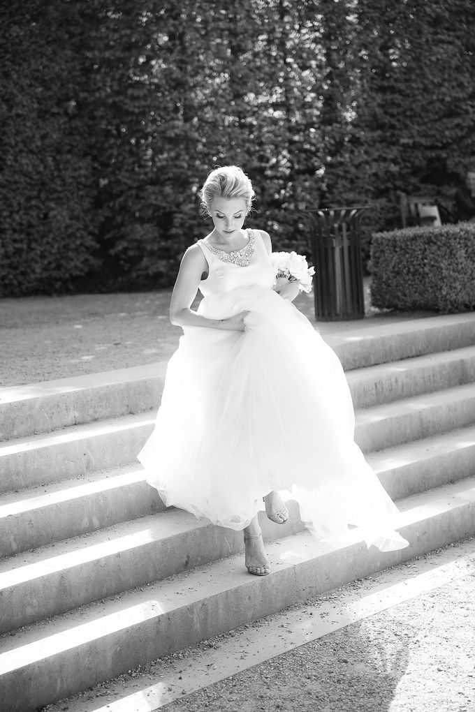 Real Wedding of Bridget & Brian by Luxe Paris Events - 007