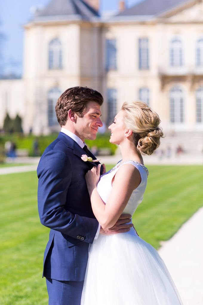 Real Wedding of Bridget & Brian by Luxe Paris Events - 008