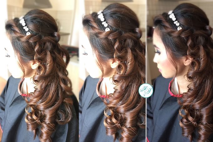 Wedding | Hair Styling by Felicia Sarwono Makeup Art - 005