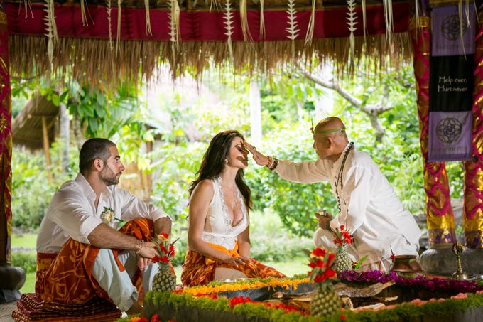 Fire Blessing Ceremony by Fivelements Bali Retreat - 003