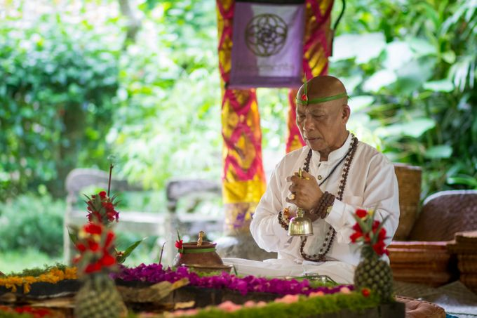 Fire Blessing Ceremony by Fivelements Bali Retreat - 005