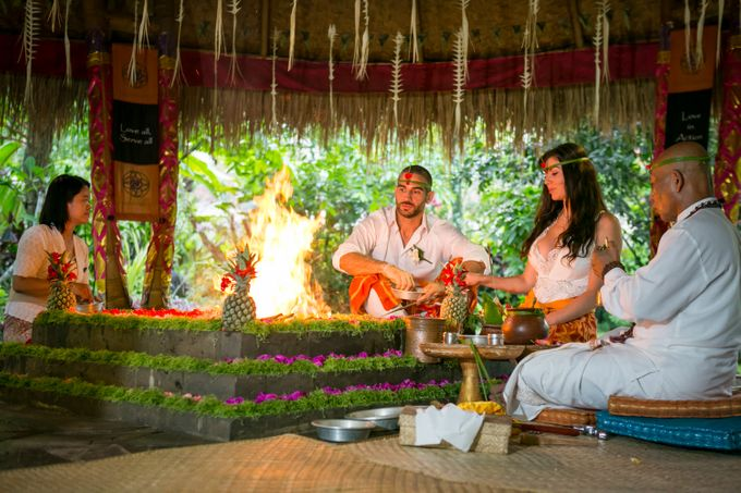 Fire Blessing Ceremony by Fivelements Bali Retreat - 006