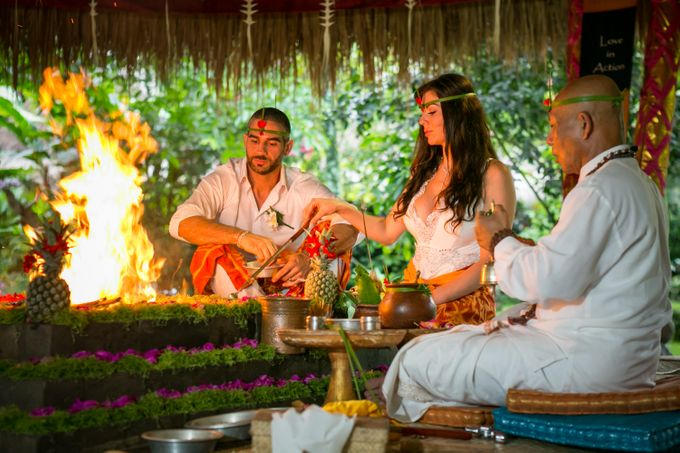 Fire Blessing Ceremony by Fivelements Bali Retreat - 007