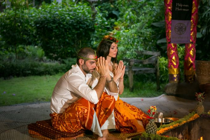 Fire Blessing Ceremony by Fivelements Bali Retreat - 011