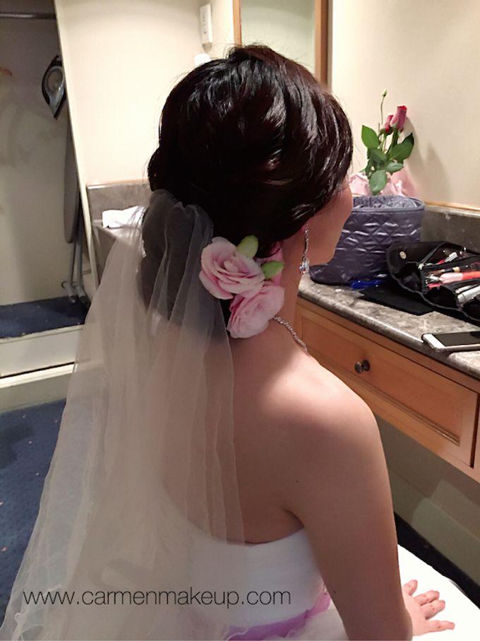Brides Actual Day by Carmen Makeup & Hair - 026