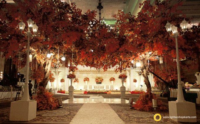 Wedding at Kempinski Grand Ballroom - Hotel Indonesia Kempinski Jakarta by Hotel Indonesia Kempinski Jakarta - 027