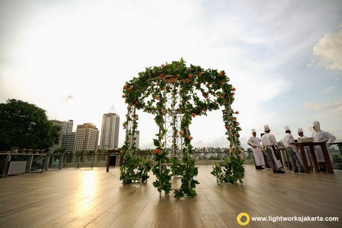 Kris & Dewi Wedding at the Residence ONFIVE by Grand Hyatt Jakarta - 003