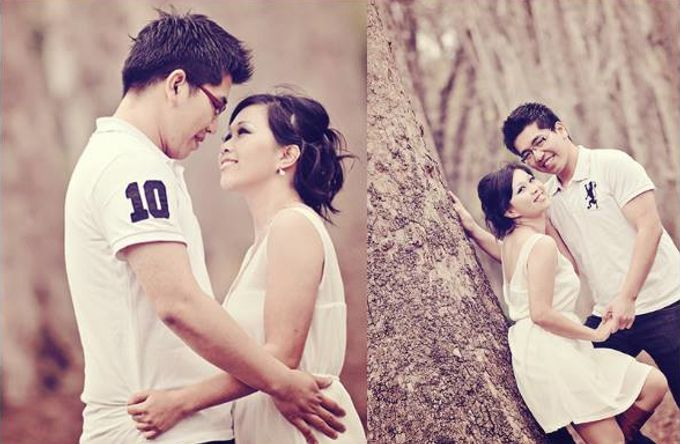 Pre Wedding | Linawaty & Eric by Felicia Sarwono Makeup Art - 001