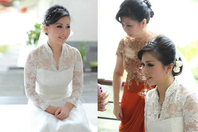 Wedding | Linawaty & Eric by Felicia Sarwono Makeup Art - 005