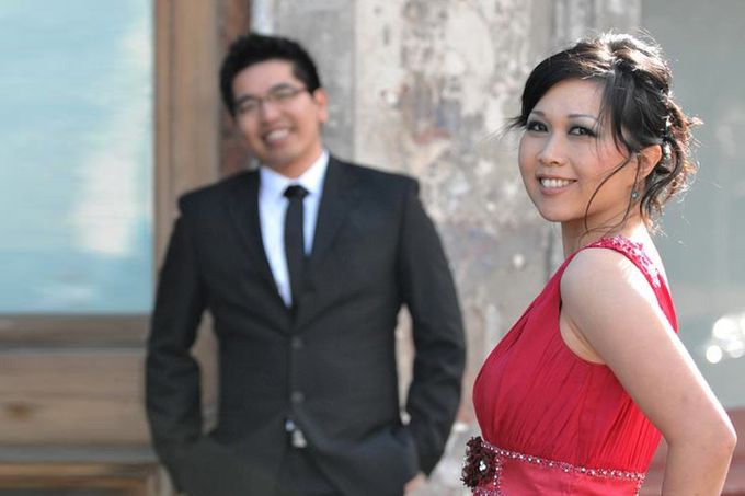 Pre Wedding | Linawaty & Eric by Felicia Sarwono Makeup Art - 002