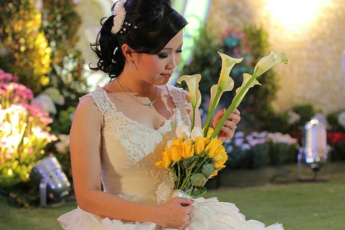 Wedding | Linawaty & Eric by Felicia Sarwono Makeup Art - 007