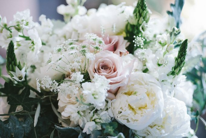 Romantic Real Wedding by Stone House Creative - 002