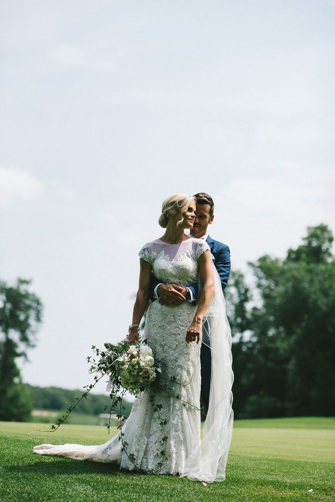 Romantic Real Wedding by Stone House Creative - 009