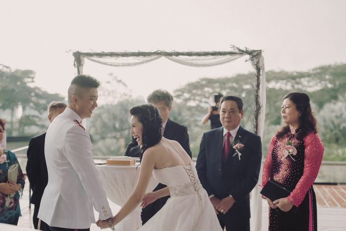 Lavender Love for Yong Xi and Linh by MerryLove Weddings - 022