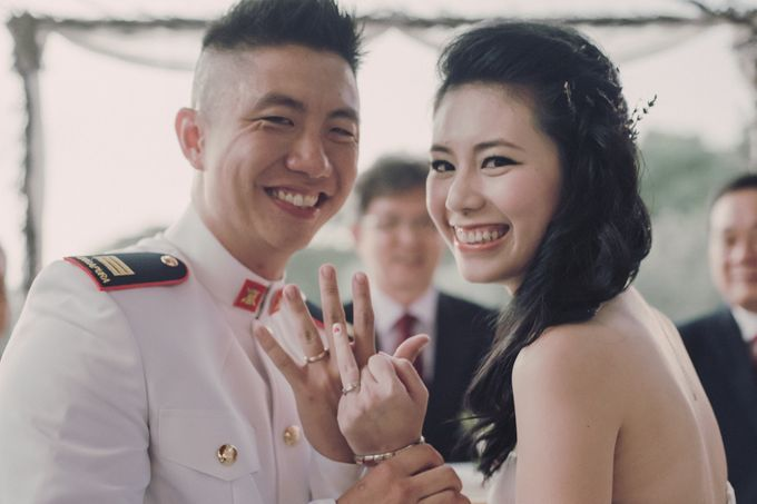 Lavender Love for Yong Xi and Linh by MerryLove Weddings - 024