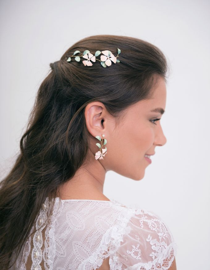 New painted headpieces collection by Lirica - 001