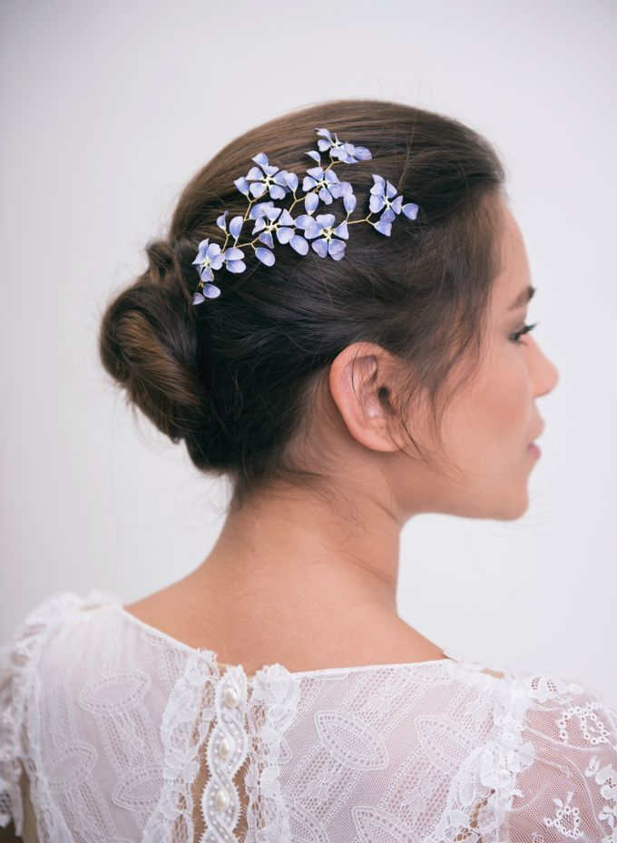 New painted headpieces collection by Lirica - 007