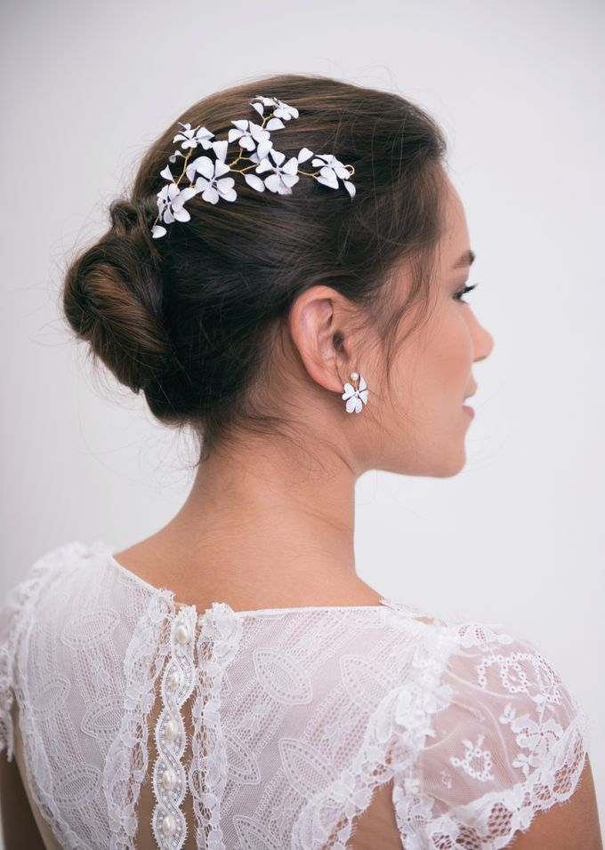 New painted headpieces collection by Lirica - 004