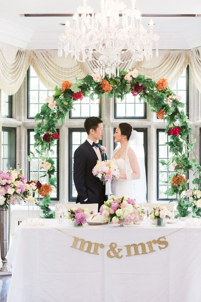 A Beautiful Estates of Sunnybrook Wedding in Toronto - Liz and Jin by Samantha Ong Photography - 043