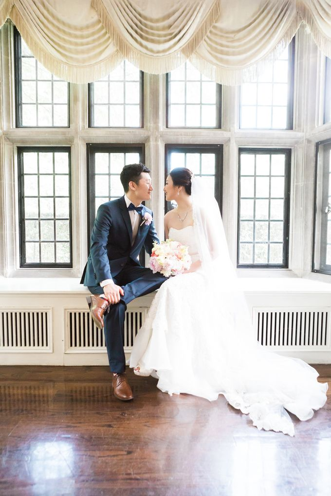 A Beautiful Estates of Sunnybrook Wedding in Toronto - Liz and Jin by Samantha Ong Photography - 046