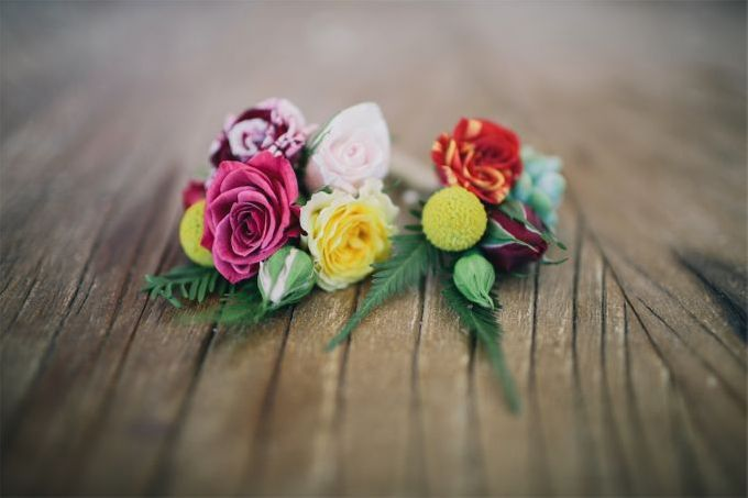 Mexican themed wedding by Wild Blossom Flowers - 012