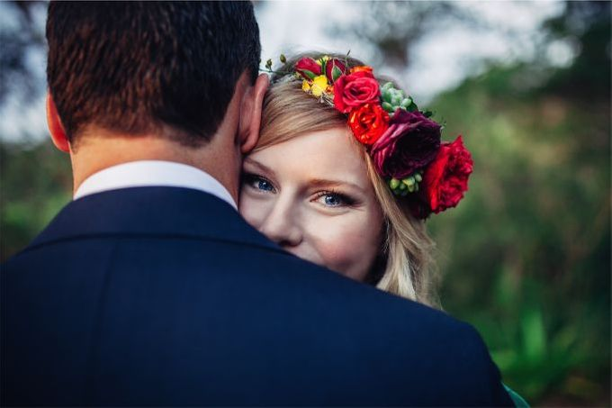 Mexican themed wedding by Wild Blossom Flowers - 001
