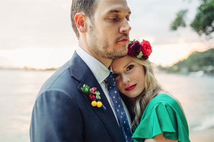 Mexican themed wedding by Wild Blossom Flowers - 003