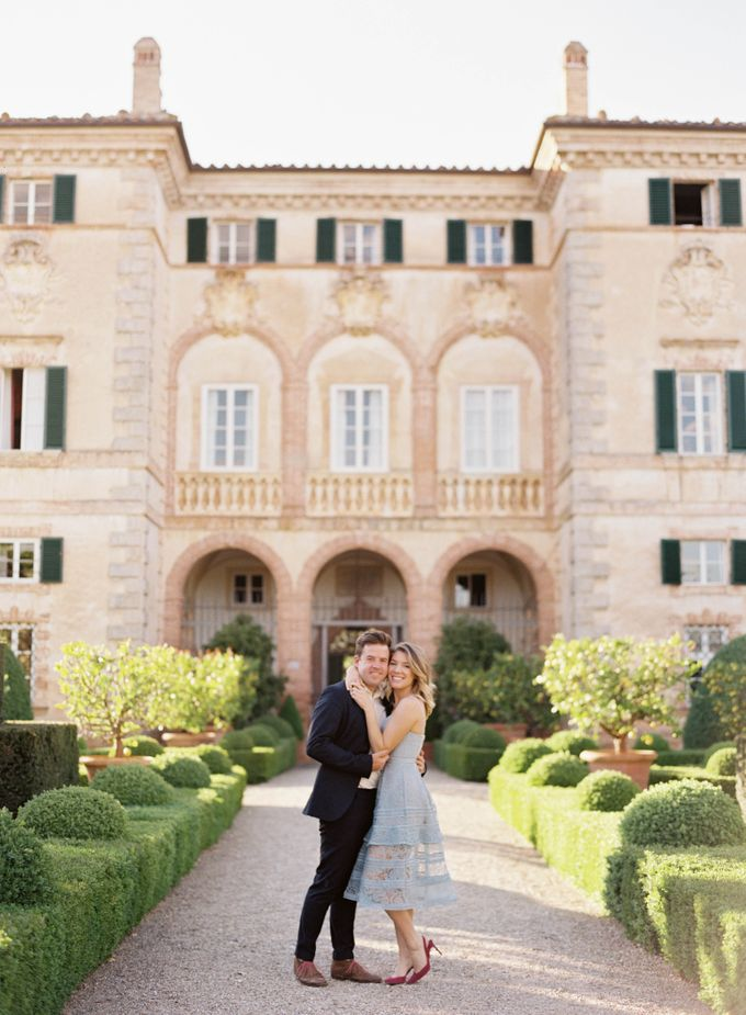 Srping Villa Cetinale Engagement Shoot by Jen Huang Photo - 005