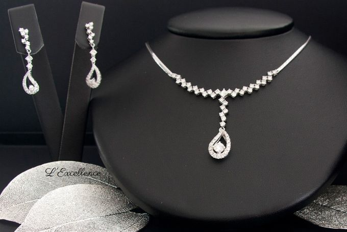 Wedding Day Jewellery Sets by L'Excellence Diamond - 001