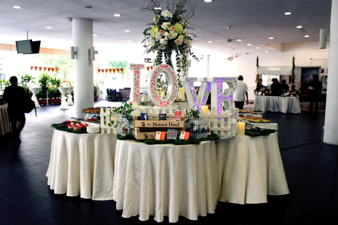 A Floral Wedding by Manna Pot Catering - 003