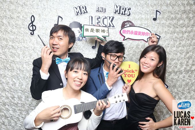 Lucas and Karen Musical Theme Wedding by TINY PHOTO LLP - 001