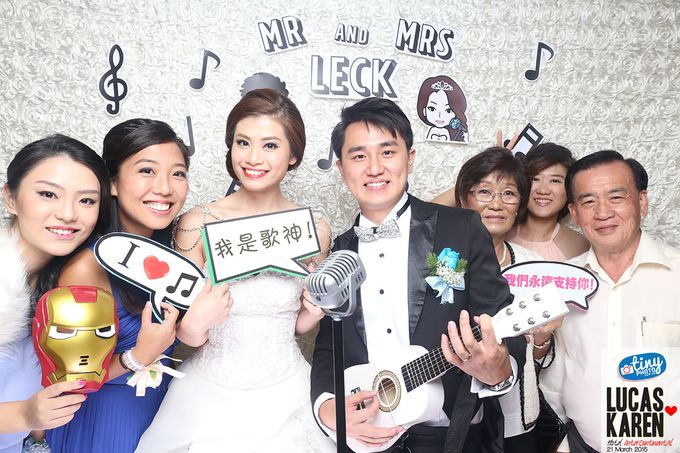 Lucas and Karen Musical Theme Wedding by TINY PHOTO LLP - 002