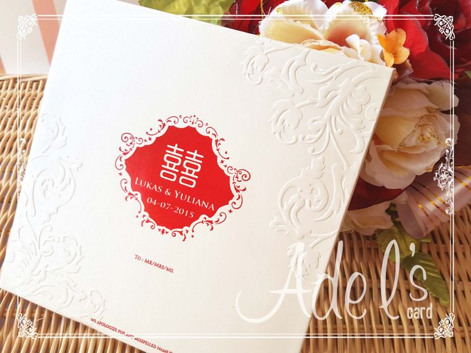 Two Pieces Hard Cover by Adel's House of card - 031