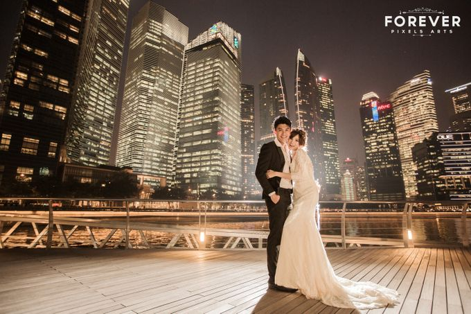 Pre-wedding photography R & M by Forever Pixels Arts