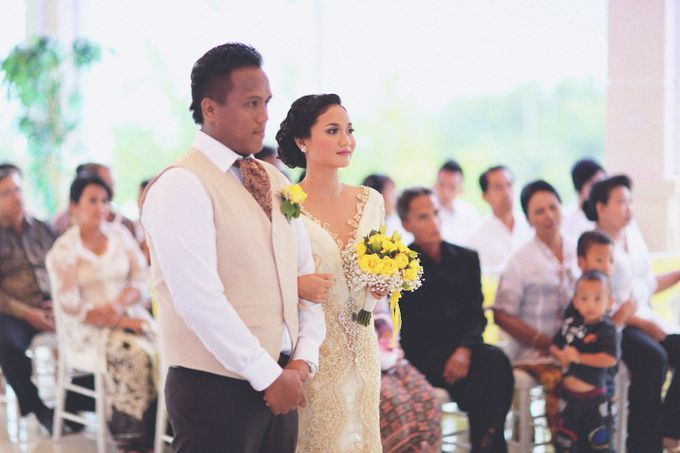 Dimas and Dama (Wedding) | Bali Wedding by Flamingo Dewata Chapel and Villas - 012