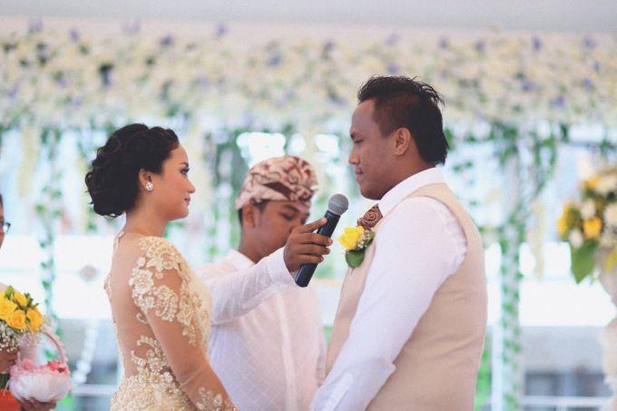 Dimas and Dama (Wedding) | Bali Wedding by Flamingo Dewata Chapel and Villas - 014