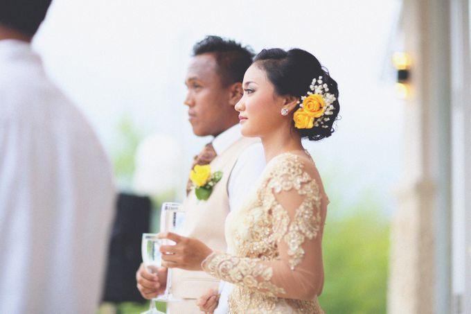Dimas and Dama (Wedding) | Bali Wedding by Flamingo Dewata Chapel and Villas - 017