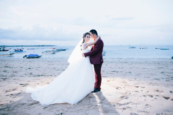 Jimmy & Tiara | Bali Wedding Destination by Maycy Makeupartis - 016