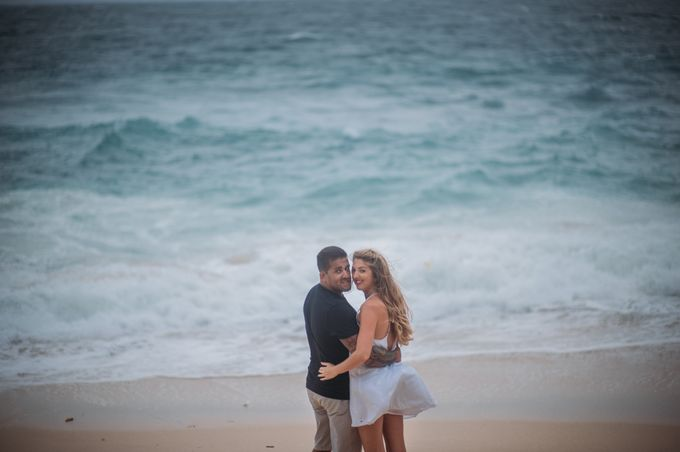 Wind Cannot Stop Us on Engagement Thiago and Jessica from Brazil by Mariyasa - 008