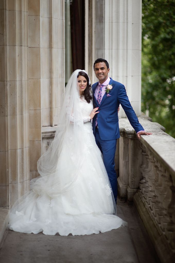 Aimee and Andrew - Lovely London Wedding by For Thy Sweet Love - 009
