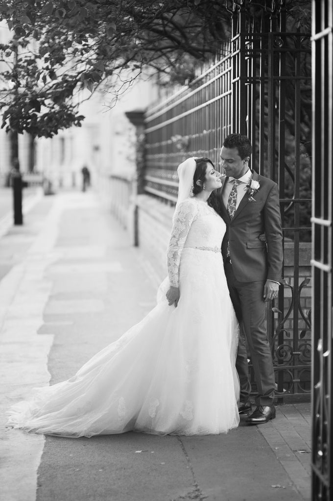 Aimee and Andrew - Lovely London Wedding by For Thy Sweet Love - 011